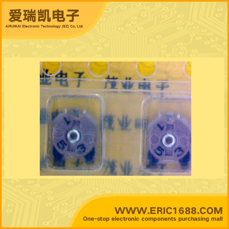 金属陶瓷贴片微调电位器rvg4m系列 rvg4m08-153vm-tc 15kΩ/ohm 4x4