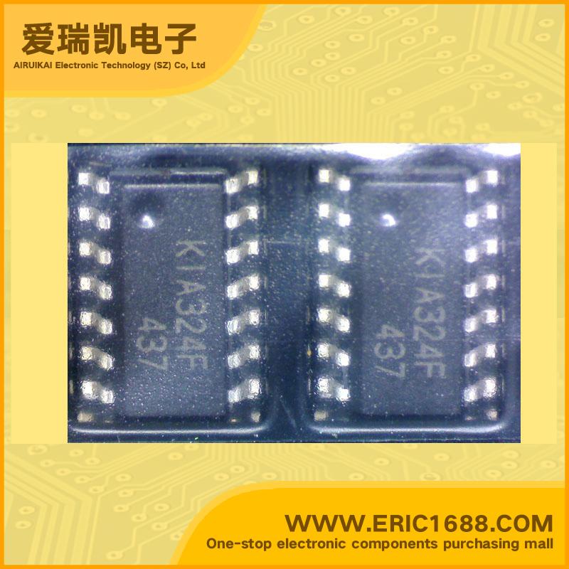 集成电路运算放大器 kia324f 36v flp-14 标记 kia324f